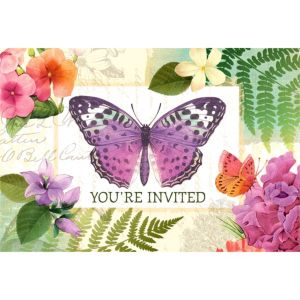 Horizontal Peace and Serenity Invitations 8ct