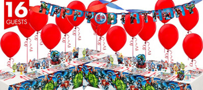Avengers Deluxe Party Kit for 16 Guests