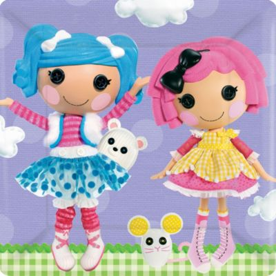 Lalaloopsy Lunch Plates 8ct