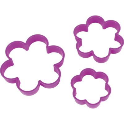 Flower Cookie Cutters 3pc