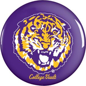 Louisiana State Tigers Button