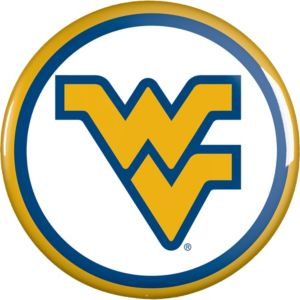 West Virginia Mountaineers Cougars Button