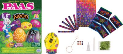 Neon Easter Egg Coloring Kit 114pc