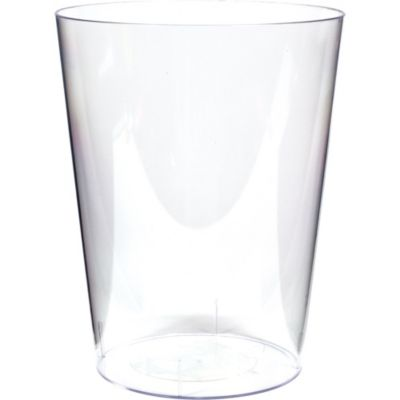 Clear Cylinder Container 7in