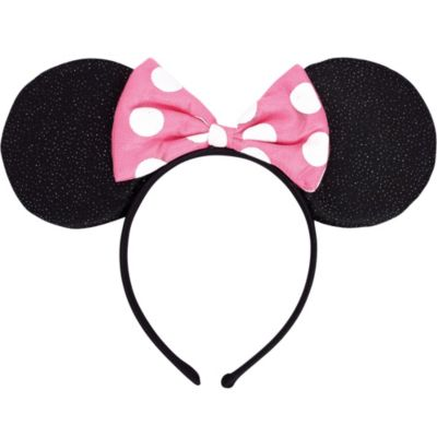 Minnie Mouse Bow Headband Deluxe