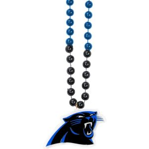 Carolina Panthers Pendant Bead Necklace