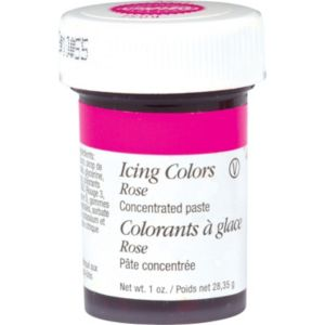 Wilton Rose Icing Color