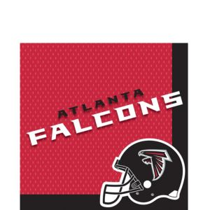 Atlanta Falcons Lunch Napkins 36ct