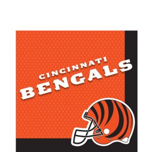 Cincinnati Bengals Lunch Napkins 36ct