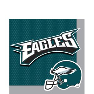 Philadelphia Eagles Lunch Napkins 36ct