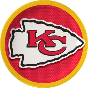 Kansas City Chiefs Lunch Plates 18ct