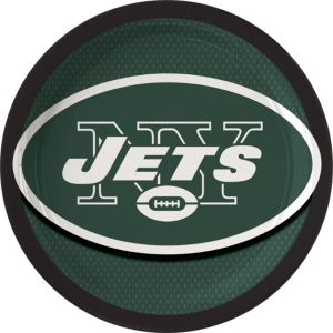 New York Jets Lunch Plates 18ct