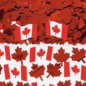 Canadian Flag Confetti 0.5oz