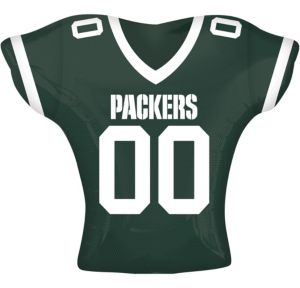 Green Bay Packers Balloon - Jersey