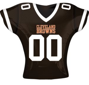 Cleveland Browns Balloon - Jersey
