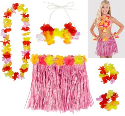 Child Pink Hula Kit