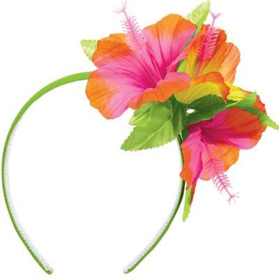 Luau Hibiscus Headband