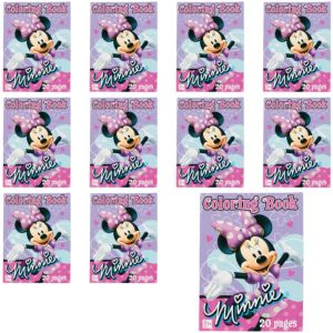 Minnie Mouse Coloring Books 12ct