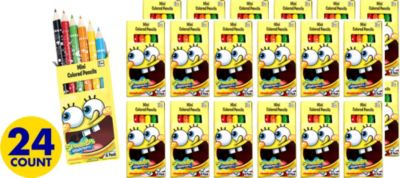 SpongeBob Colored Pencils 24ct