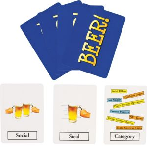 Beer Playing Cards Drinking Game