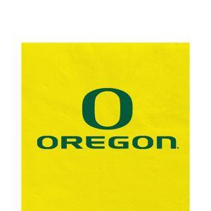 Oregon Ducks Lunch Napkins 20ct
