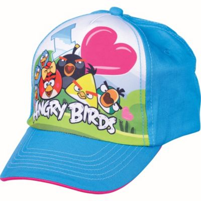 Child Angry Birds Girl Baseball Hat