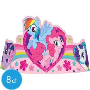 My Little Pony Tiaras 8ct
