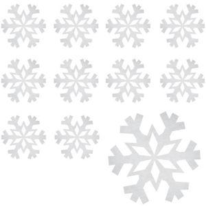 Foil Snowflake Cutouts 12ct