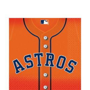 Houston Astros Lunch Napkins 36ct