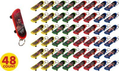WWE Skateboard Key Chains 48ct