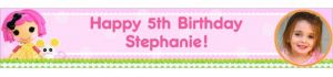 Custom Lalaloopsy Photo Banner 6ft