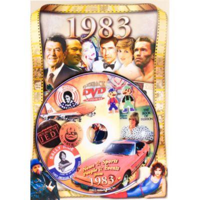 Year 1983 DVD Greeting Card