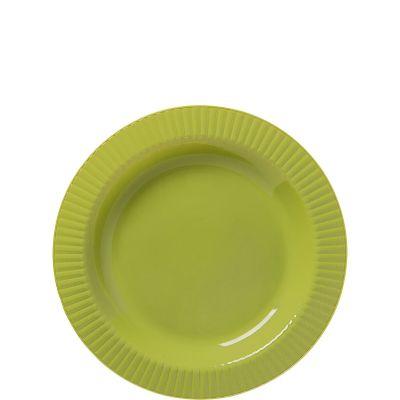 Avocado Premium Plastic Dessert Plates 32ct