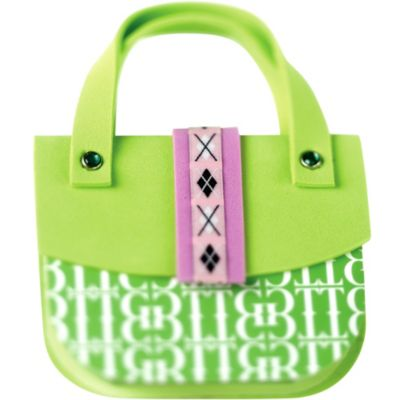Green Argyle Handbag Notepad