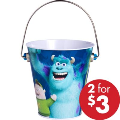 Monsters University Metal Pail