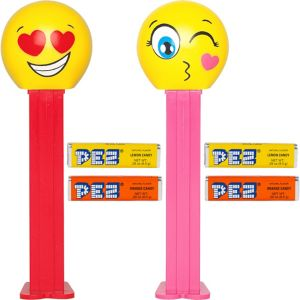 Valentines Heart Pez Candy Packs 12ct