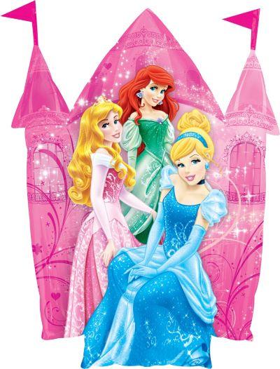 Disney Princess Balloon - Castle