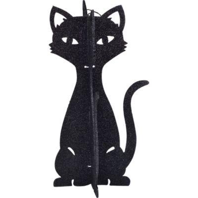 3D Glitter Cat Centerpiece