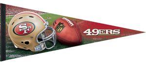 Premium San Francisco 49ers Pennant Flag