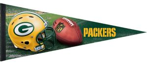Premium Green Bay Packers Pennant Flag