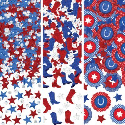 Bandana Western Confetti