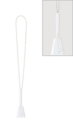 White Clacker Necklace