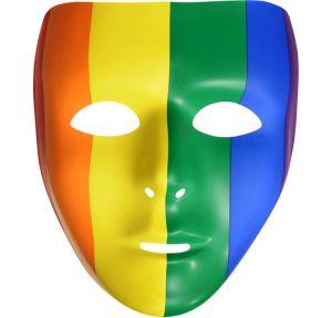 Basic Rainbow Face Mask