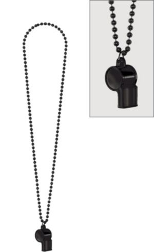 Black Whistle Necklace