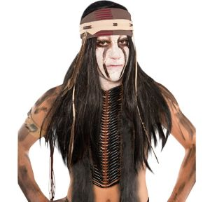 Tonto Wig with Headwrap
