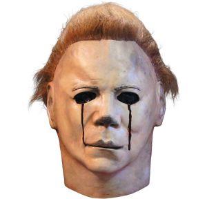 Latex Halloween II Blood Tears Michael Myers Mask