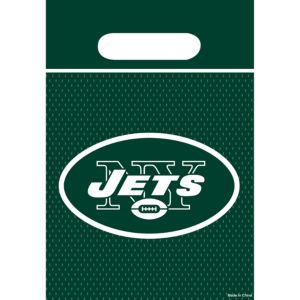 New York Jets Favor Bags 8ct