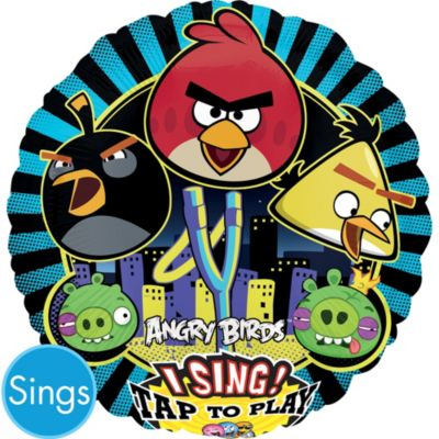 Angry Birds Balloon - Singing