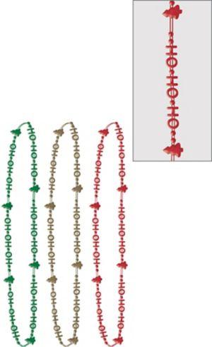 HoHoHo Bead Necklaces 3ct
