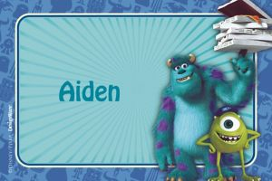 Custom Monsters University Thank You Notes
